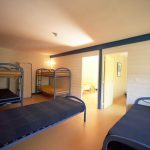 Beds for large groups at camping maisonneuve - dordogne - perigord noir