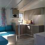 New mobile homes at camping maisonneuve - dordogne - perigord noir